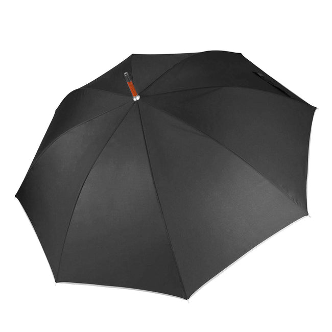 Dark Grey - Front - Kimood Unisex Auto Open Walking Umbrella