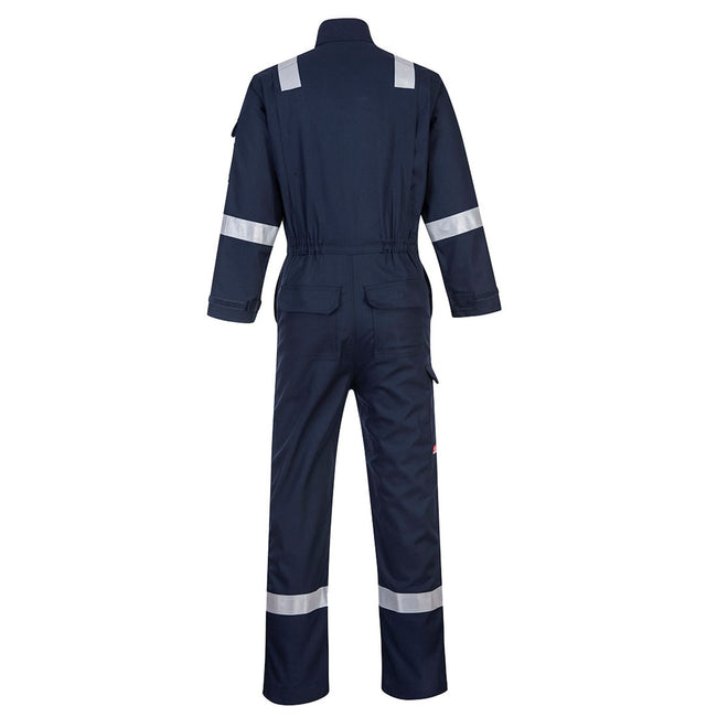 Orange - Front - Portwest Mens Bizflame Flame Resistant Work Overall-Coverall