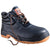 Black-Orange - Front - Result Mens Work-Guard Defence SBP Waterproof Leather Safety Boots