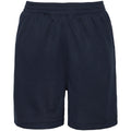 French Navy - Back - AWDis Just Cool Childrens-Kids Sport Shorts
