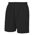 Jet Black - Front - AWDis Just Cool Childrens-Kids Sport Shorts