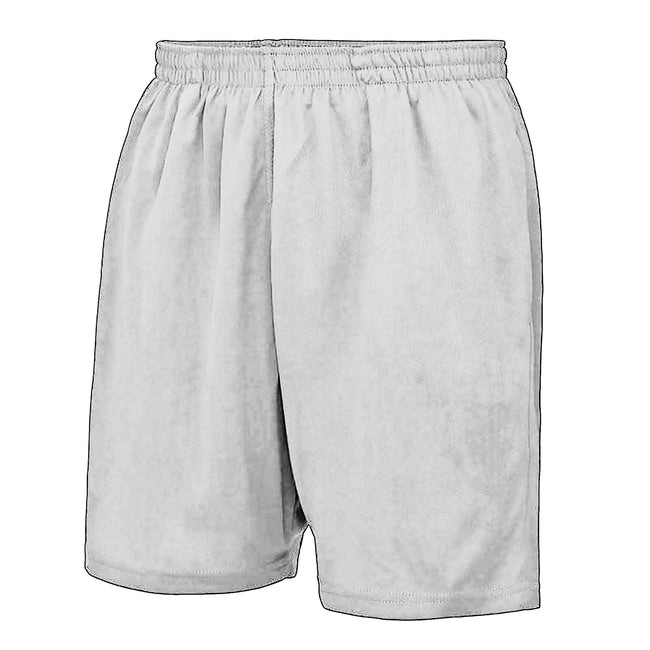Arctic White - Front - AWDis Just Cool Childrens-Kids Sport Shorts