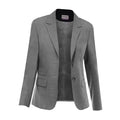 Grey - Front - Skopes Womens-Ladies Elle Formal Suit Jacket