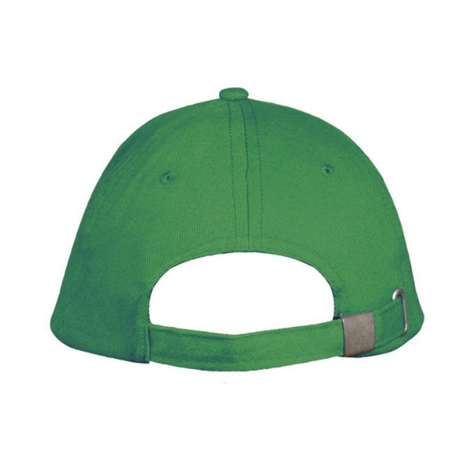 Kelly Green-White - Side - SOLS Unisex Long Beach Cap