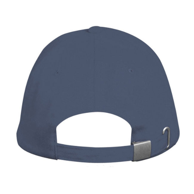 Denim - Side - SOLS Unisex Long Beach Cap