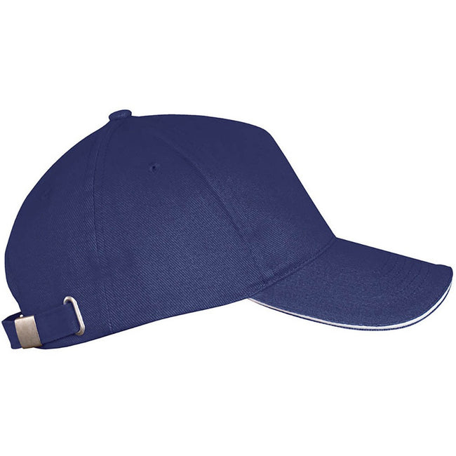 Lime - Front - SOLS Unisex Long Beach Cap