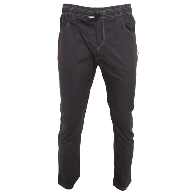 Black - Front - Le Chef Unisex Crease Resistant Prep Trousers