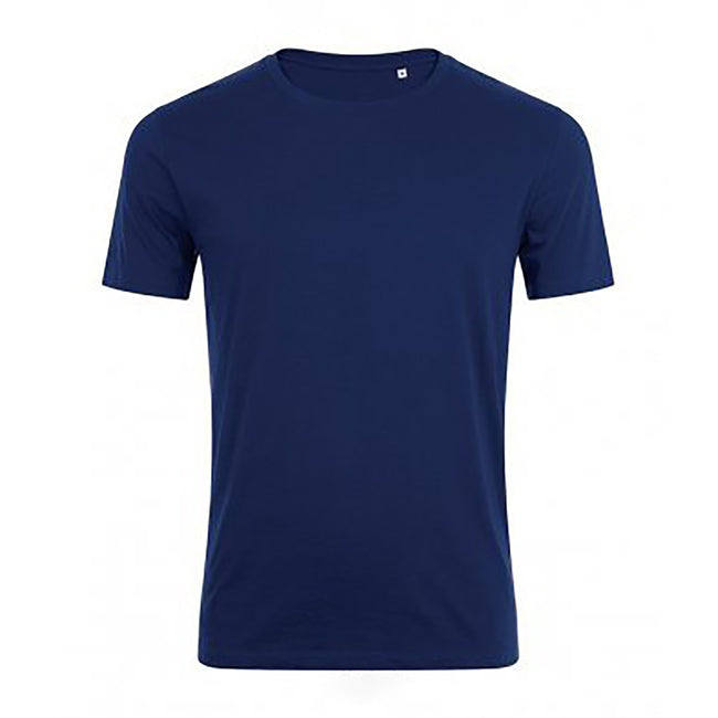 French Navy - Front - SOLS Mens Marvin Short Sleeve T-Shirt