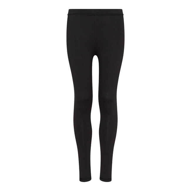 Jet Black - Front - AWDis Childrens Kids Cool Kids Athletic Trousers