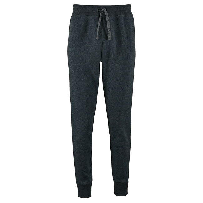 Charcoal Marl - Front - SOLS Womens-Ladies Jake Slim Fit Jogging Bottoms