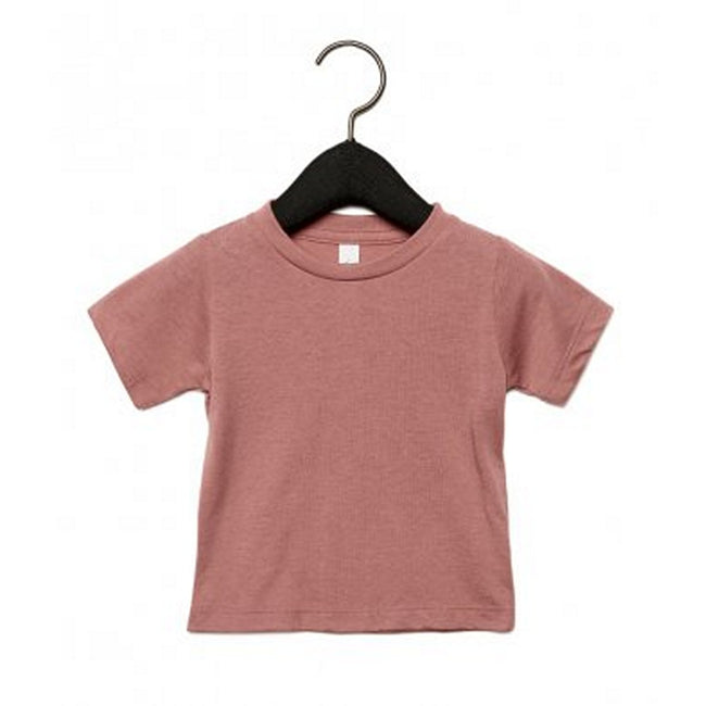 Mauve Triblend - Front - Bella + Canvas Baby Tri-Blend T-Shirt