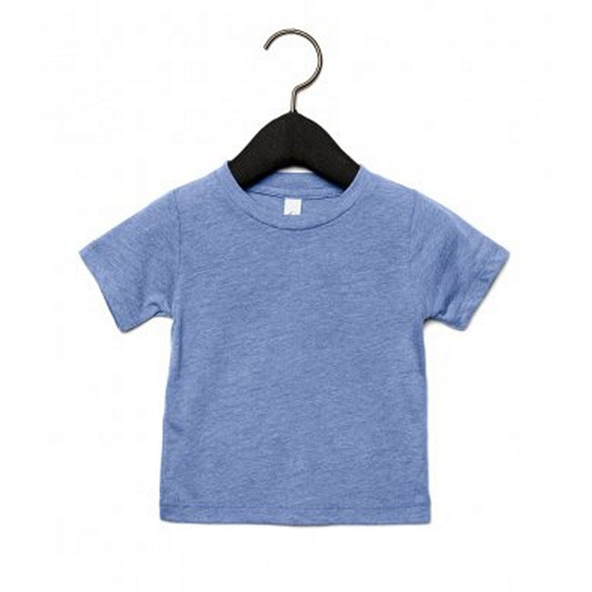 Blue Triblend - Front - Bella + Canvas Baby Tri-Blend T-Shirt