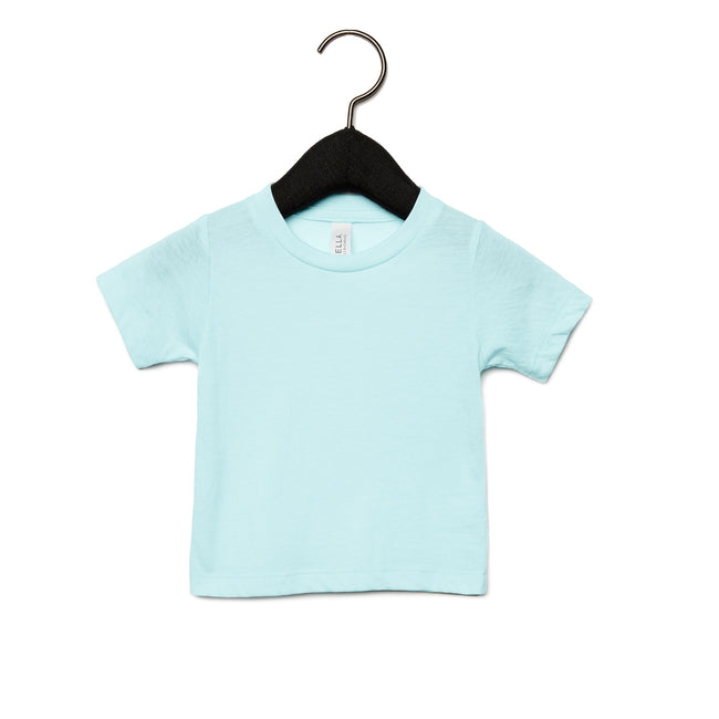Ice Blue Triblend - Front - Bella + Canvas Baby Tri-Blend T-Shirt