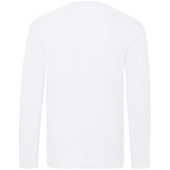 Light Graphite - Front - Fruit Of The Loom Mens Original Long Sleeve T-Shirt