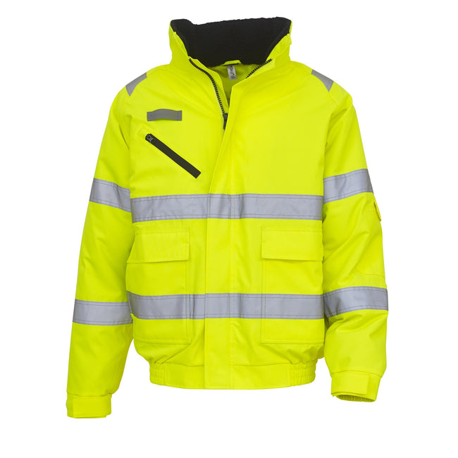 Yellow - Front - Yoko Fontaine Flight Jacket