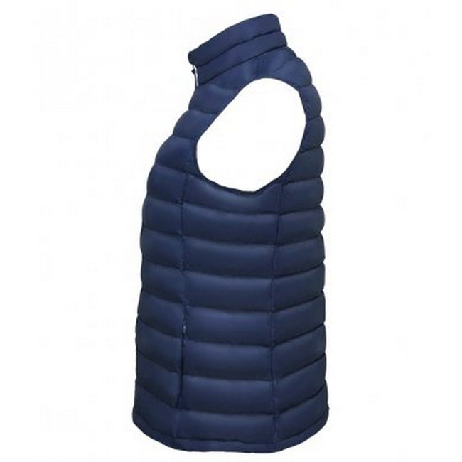 French Navy - Side - SOLS Womens-Ladies Wilson Lightweight Padded Bodywarmer