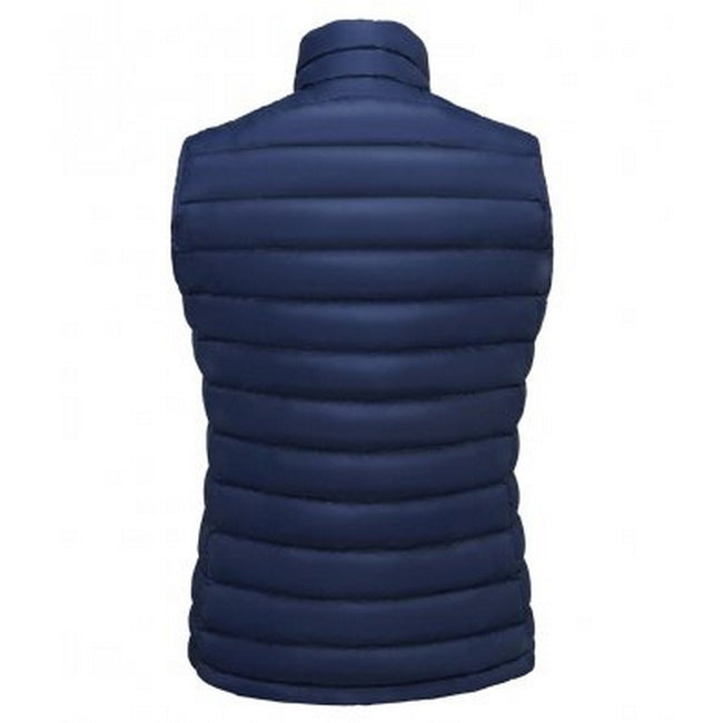 French Navy - Lifestyle - SOLS Womens-Ladies Wilson Lightweight Padded Bodywarmer