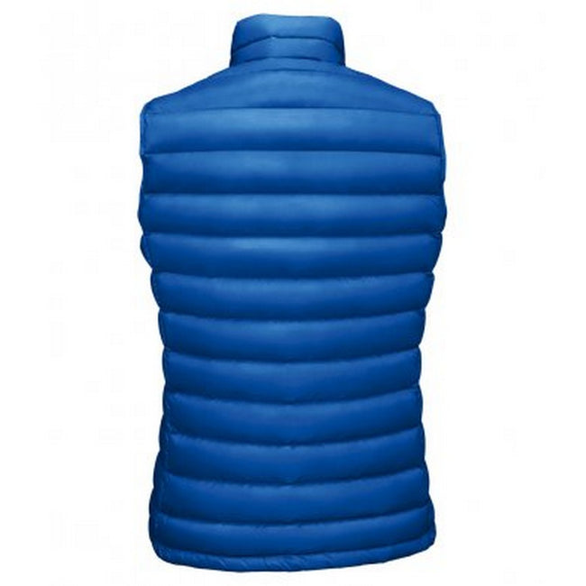 Royal Blue - Side - SOLS Womens-Ladies Wilson Lightweight Padded Bodywarmer