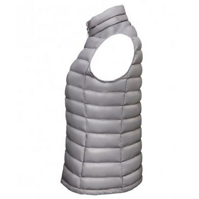 Metal Grey - Back - SOLS Womens-Ladies Wilson Lightweight Padded Bodywarmer