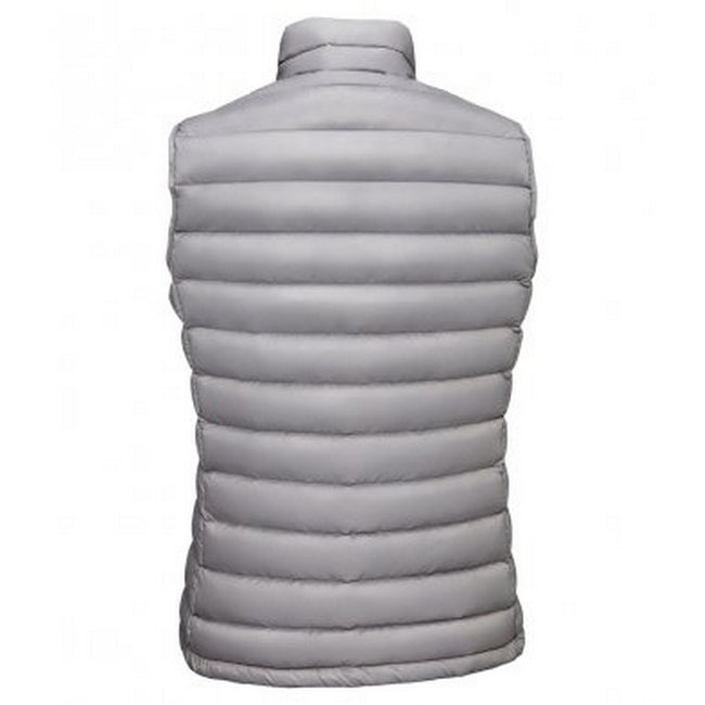 Metal Grey - Side - SOLS Womens-Ladies Wilson Lightweight Padded Bodywarmer