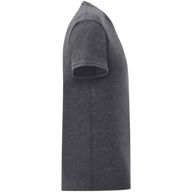 Zinc Grey - Back - Fruit Of The Loom Mens Iconic T-Shirt