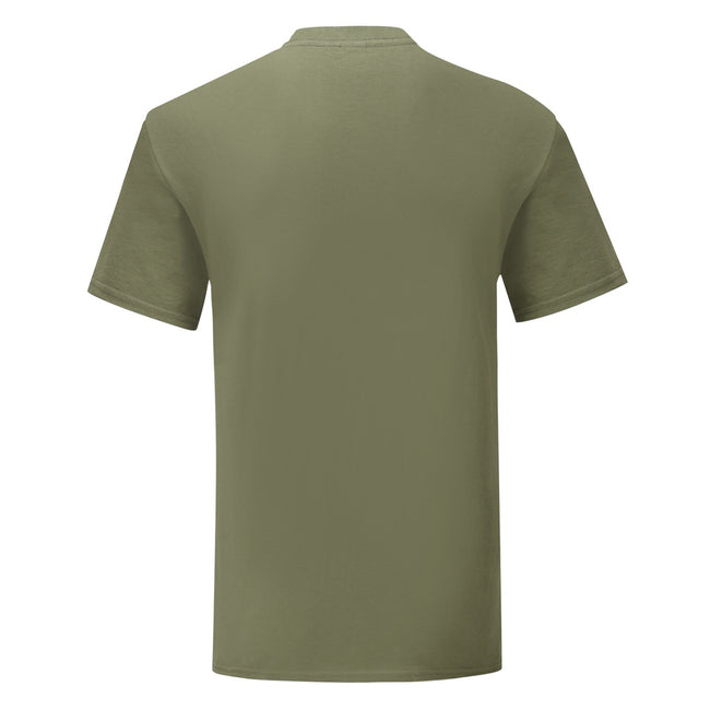 Classic Olive Green - Lifestyle - Fruit Of The Loom Mens Iconic T-Shirt