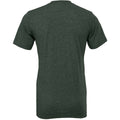 Heather Forest Green - Back - Bella + Canvas Adults Unisex Heather CVC T-Shirt