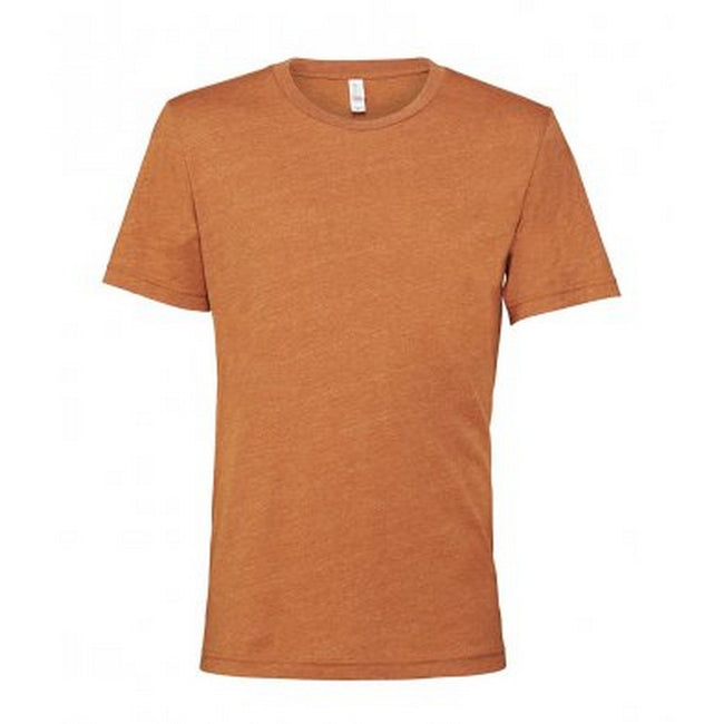Heather Midnight Blue - Front - Bella + Canvas Adults Unisex Heather CVC T-Shirt