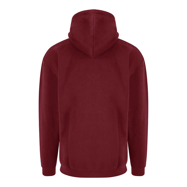Grey Heather - Front - PRO RTX Mens Pro Hoodie