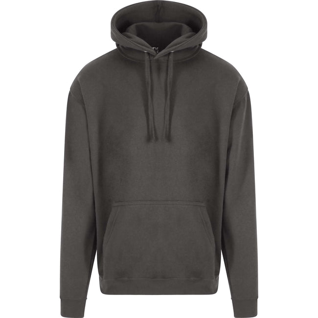 Charcoal - Front - PRO RTX Mens Pro Hoodie