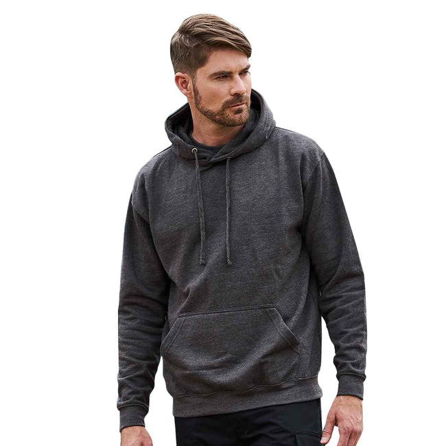 Burgundy - Front - PRO RTX Mens Pro Hoodie