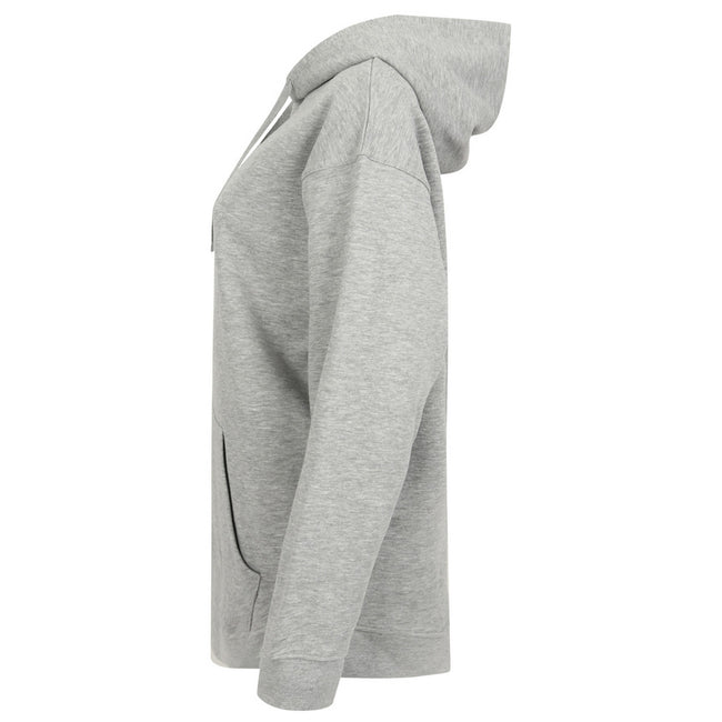 Heather Grey - Side - Skinni Fit Unisex Oversized Hoodie