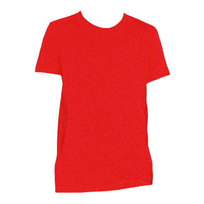 Red - Front - American Apparel Youths Fine Jersey T-Shirt