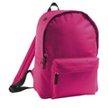 Fuchsia - Front - SOLS Kids Rider School Backpack - Rucksack