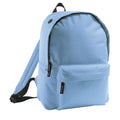 Sky Blue - Front - SOLS Kids Rider School Backpack - Rucksack