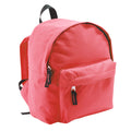 Red - Back - SOLS Kids Rider School Backpack - Rucksack