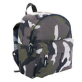 Camouflage - Back - SOLS Kids Rider School Backpack - Rucksack