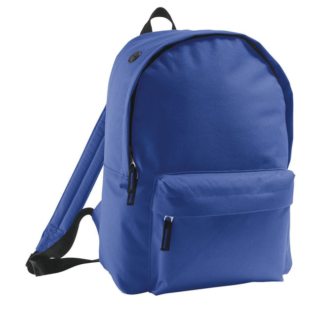 Royal Blue - Front - SOLS Kids Rider School Backpack - Rucksack