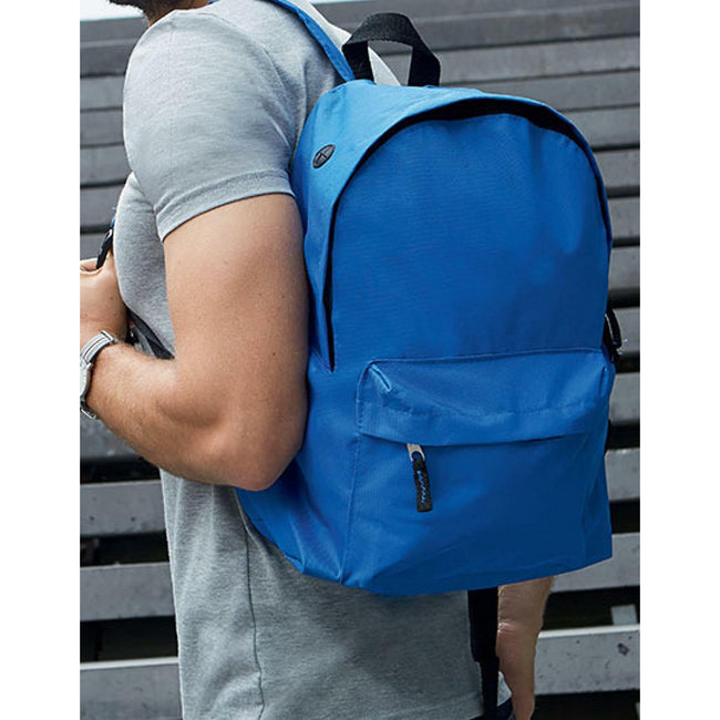 Royal Blue - Side - SOLS Kids Rider School Backpack - Rucksack