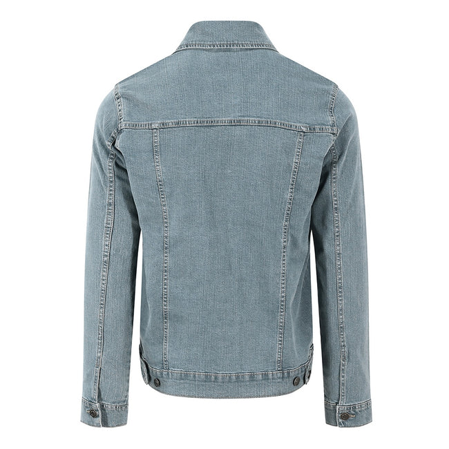 Light Blue Wash - Back - So Denim Mens Noah Denim Jacket