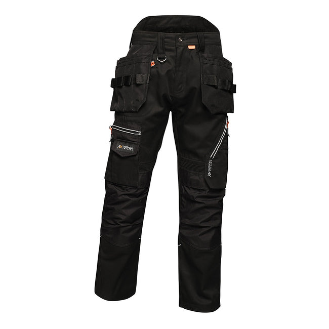 Black - Front - Tactical Threads Mens Execute Holster Trousers