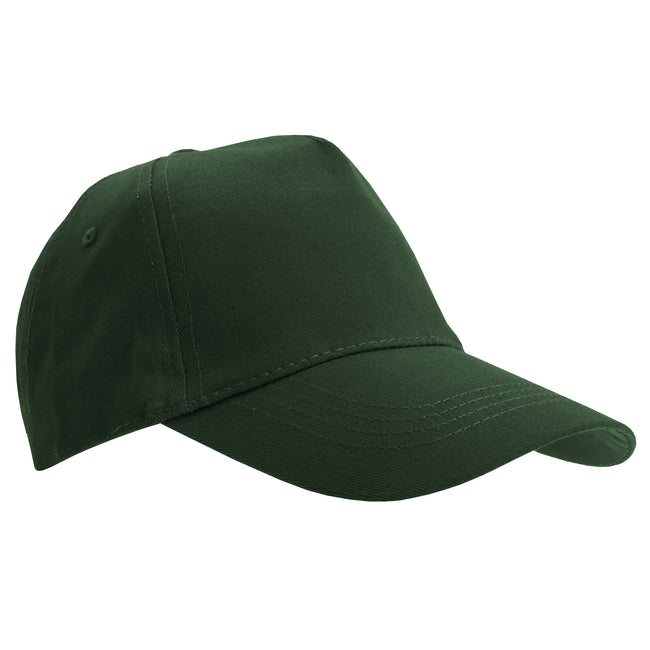 Forest Green - Lifestyle - SOLS Unisex Buzz 5 Panel Baseball Cap