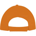 Red - Front - SOLS Unisex Buzz 5 Panel Baseball Cap