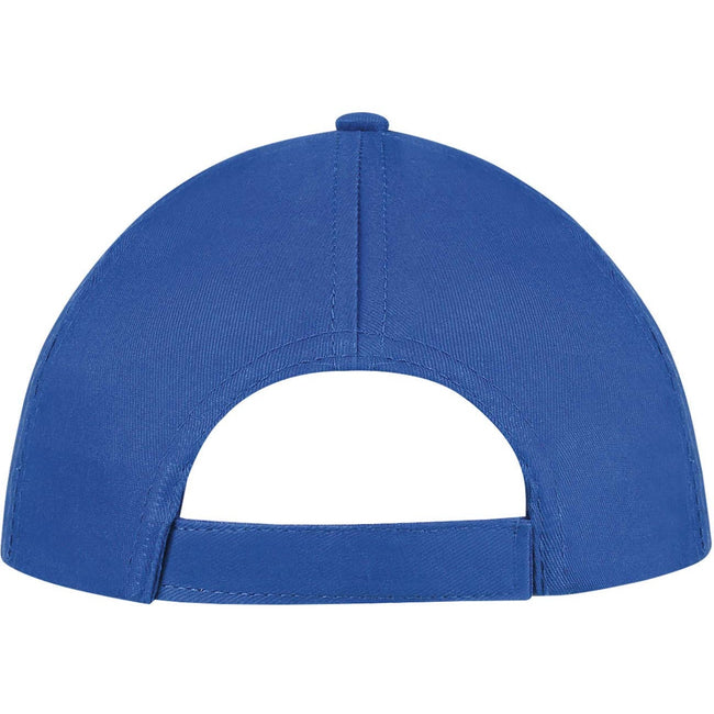 Atoll Blue - Front - SOLS Unisex Buzz 5 Panel Baseball Cap
