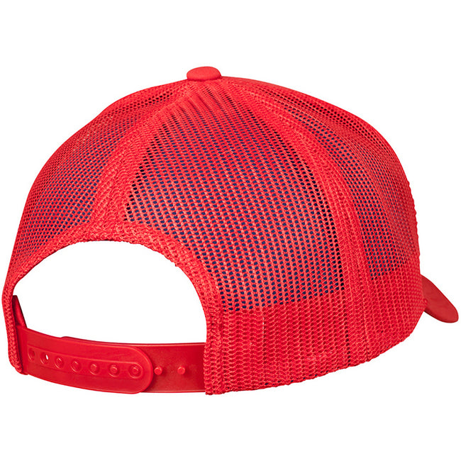 Red - Back - Flexfit Unisex Retro Trucker Cap