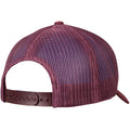 Maroon - Back - Flexfit Unisex Retro Trucker Cap