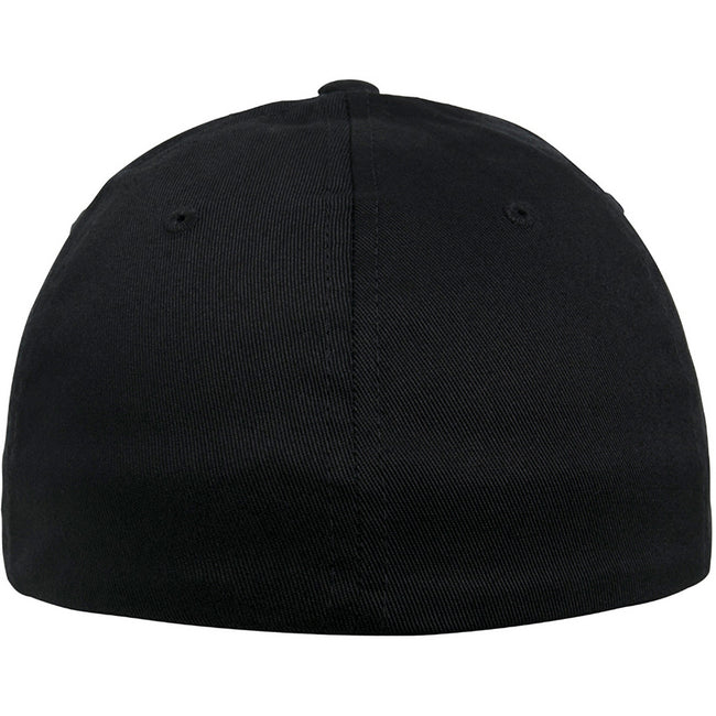 Black - Back - Flexfit Unisex Organic Cotton Cap