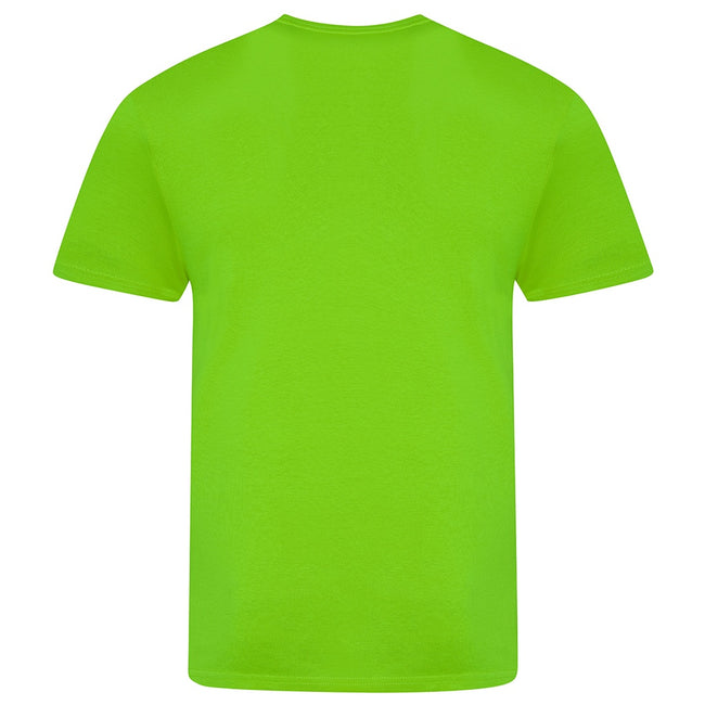 Electric Green - Back - AWDis Unisex Adults Electric Tri-Blend T-Shirt