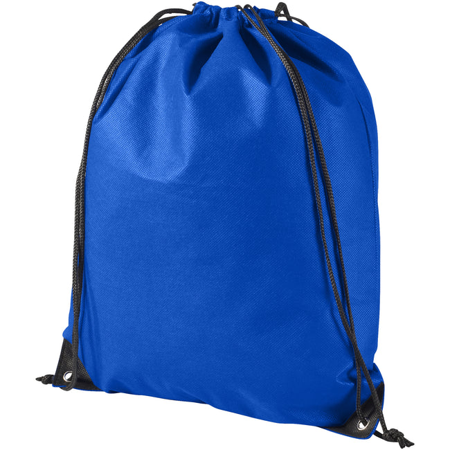 Purple - Side - Bullet Evergreen Non Woven Premium Rucksack