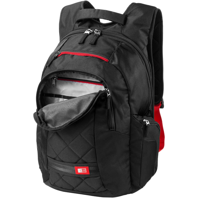 Solid Black - Back - Case Logic 16in Laptop Backpack